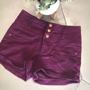 🌟REFUGE purple shorts 4 stylish